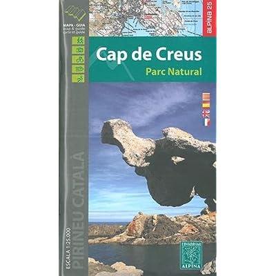 Cap de Creus parc naturel  1/25.000