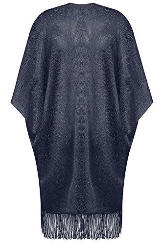 Yours Clothing - Blouson - Femme Bleu Marine