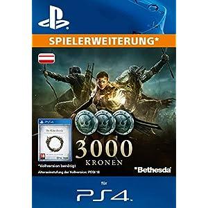 The Elder Scrolls Online : 3000 Kronen [Spielerweiterung] [PS4 PSN Code – österreichisches Konto]