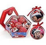 Pack 7 bolas de Navidad Disney Minnie 7,5cm