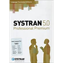Systran Professional Premium Pack Anglais Global 11 Langues - (version 5 ) - ensemble complet - 1 utilisateur - Win [import allemand]