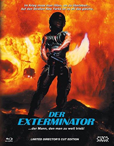 Der Exterminator - Uncut - Hartbox Cover B [Blu-ray] limitiert auf 111 Stück