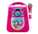 EKids JJ-672 Cdg Karaoke - Máquina con Bluetooth