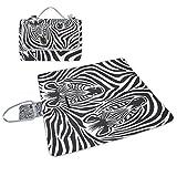 COOSUN Zebra-Box Picknick-Decke mit Matte Schimmel resistent und wasserdicht Camping-Matte für rving, Picknickdecke, Strand, Wandern, Reisen und Ausflüge