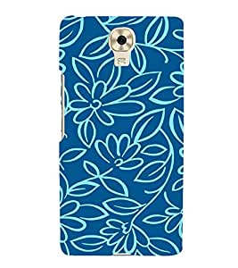 Flowers Wallpaper 3D Hard Polycarbonate Designer Back Case Cover for Gionee M6