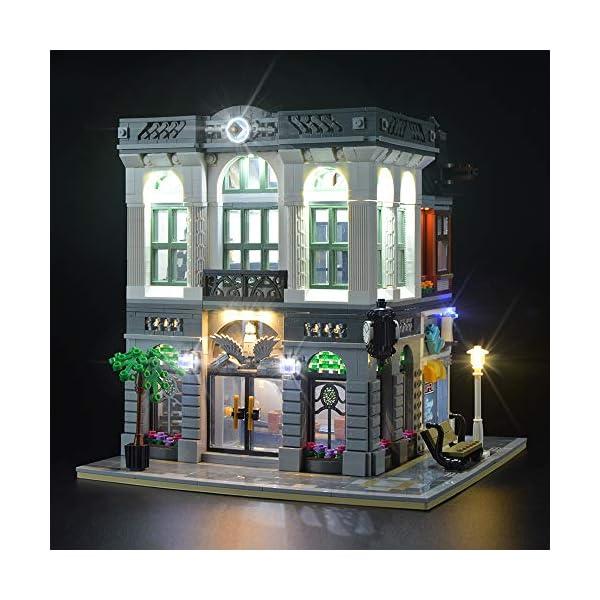 LIGHTAILING Set di Luci per (Creator Expert la Banca) Modello da Costruire - Kit Luce LED Compatibile con Lego 10251(Non… 2 spesavip