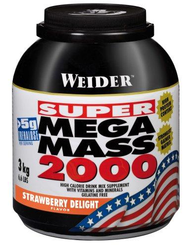 Weider Mega Mass 2000 Fresa - 3000 gr