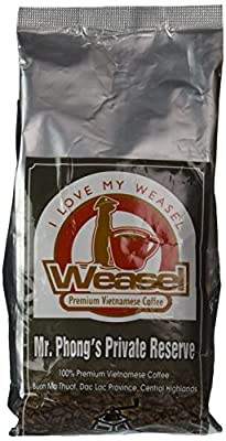 Mr. Phong's Private Reserve Premium Vietnamese Coffee, Whole Bean from Weasel Premium Vietnamese Coffees