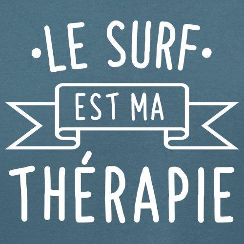 Le surf est ma thérapie - Femme T-Shirt - 14 couleur Bleu