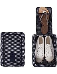 NOVAGO Housse chaussure avec motif fleurie ,matière imperméable, idéal accessoire pour les voyages