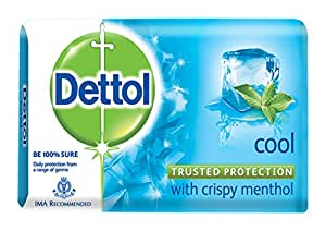 Dettol Cool Soap Multipack, 125g (Pack of 3) with Free Dettol Cool Soap, 75g