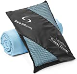 Microfibre Travel Towel - Sports Towel for the Beach - Gym - Camping - Swimming - Yoga and Pilates - Quick Dry, Lightweight and Compact