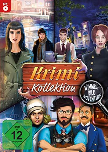 Krimi Kollektion - 3 Wimmelbild Spiele in einer Box für Windows 10 / 8.1 / 8 / 7
