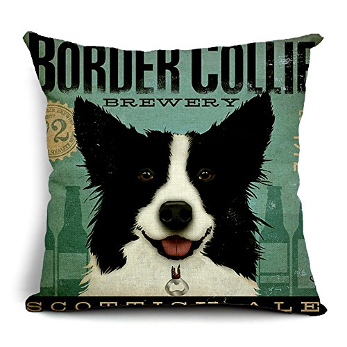 poens-dream-cuscino-retro-vintage-border-collie-printed-cotton-linen-decorative-pillow-cushion-cover