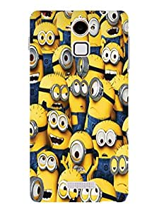 TREECASE Designer Printed Hard Back Case Cover For Coolpad Note 3 Lite ( 5 inch)