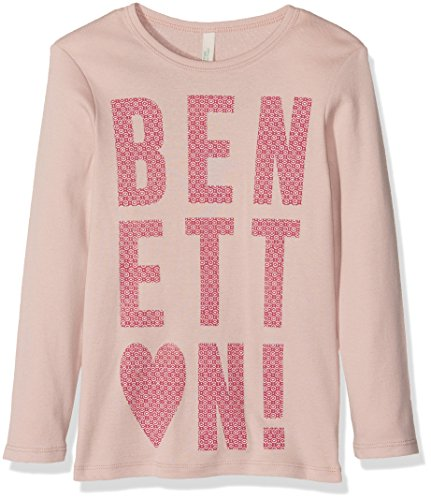 benetton-3c78c-t-shirt-fille-rose-lilac-4-5-ans-taille-fabricant-xs