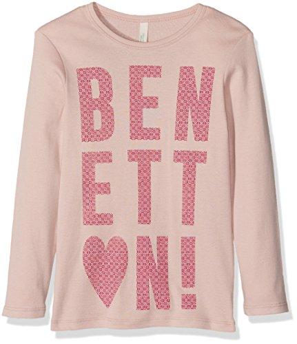benetton-madchen-t-shirt-3c78c12v4-gr-18-24-monate-herstellergrosse-2y-rosa-lilac