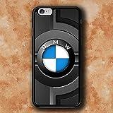 WEMNCVR BM Logo M Cas de téléphone Portable pour Coque iPhone 7 Plus/iPhone 8 Plus
