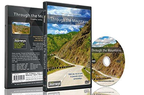 Fitness Reisen- Durch die Berge, Radfahren und Laufband-Training