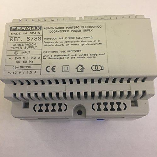 Fermax 8788 12v ac din 1.5 amp power supply