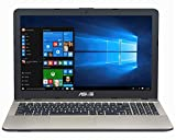 Asus F541NA-GQD64T 39,6 cm (15,6 Zoll matt) Notebook (Intel Celeron N3350, 4GB RAM, 1TB HDD, Intel HD Graphics, DVD-Laufwerk, Win 10 Home) schwarz