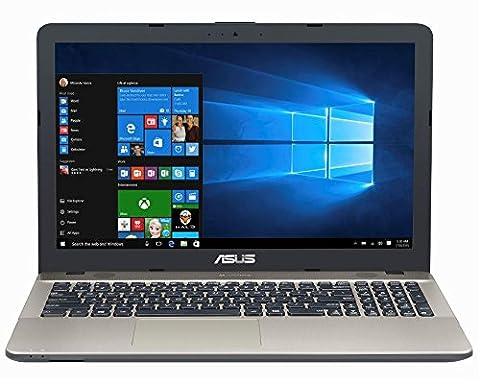Asus F541NA-GQD64T 39,6 cm (15,6 Zoll matt) Notebook (Intel Celeron N3350, 4GB RAM, 1TB HDD, Intel HD Graphics, DVD-Laufwerk, Win 10) (Asus Notebooks)