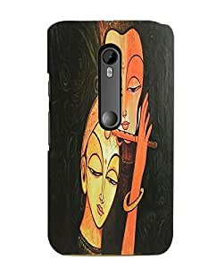 Citydreamz Radha Krishna/Spiritual/Janmashtmi/Gods Hard Polycarbonate Designer Back Case Cover For Motorola Moto G Dual SIM (Gen 3), Motorola Moto G3 Dual SIM