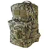 Kombat UK Waterproof Unisex Outdoor Molle Backpack available in Camouflage - 40 Litres