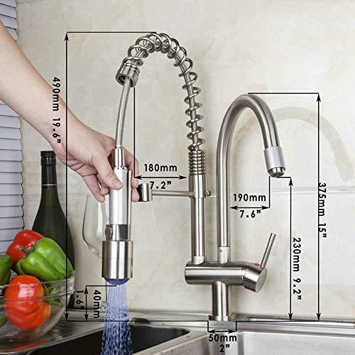 Wasserhahn Schutz gegen Armaturen Wasserhahn Dusche f/ür K/üche und Restaurant 1 St/ück