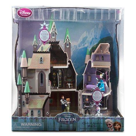 Disney Store - Die Eiskönigin - völlig unverfroren - Schloss Spielset