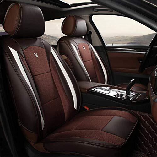 MARK Matten, Sitzbezüge, Autositzkissen, Anti-Rutsch-Kissen, Universal-Sitzbezüge, Autoinnenausstattung,Luxus schwarz