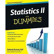 Statistics II for Dummies by Deborah J. Rumsey (2009-08-31)