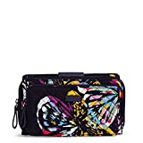 Vera Bradley Iconic Deluxe All Together Crossbody, Signature Cotton, Butterfly Flutter