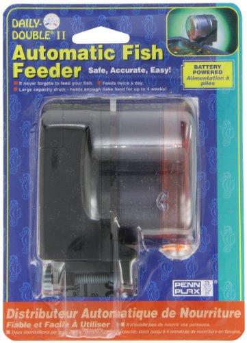 Penn-plax Daily Double II Batteriebetrieb Automatischer Fisch Futterspender