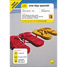 Teach Yourself One-Day Spanish [With Booklet]
