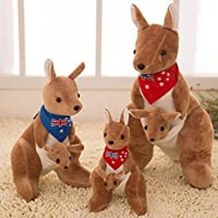 FidgetGear 20cm Adorable Kangaroo Collection Plush Stuffed Animal Toy Doll Gift Blue