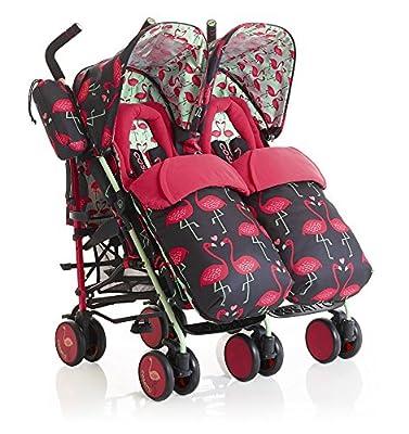 Silla de paseo Gemelar Supa Dupa Flamingo Fling - Cosatto