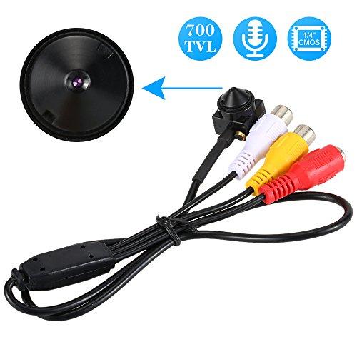 KKmoon-Mini-Cmara-Estenopeica-700TVL-Camara-de-Vigilancia-Audio-Pinhole-Color-CCTV-Cmara-Seguridad-Hogar-Micro-PAL-Sistema