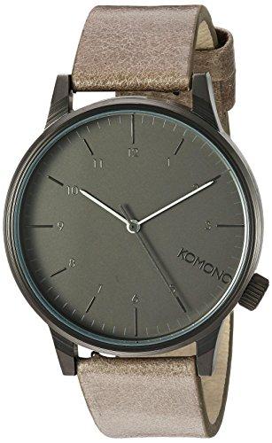 Komono Reloj Analógico de Cuarzo Unisex con Correa de Cuero – KOM-W2256 b415d2d1cd4