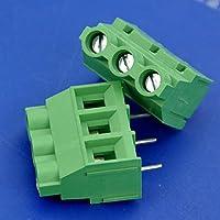 "Generic 100Pcs 3Bastones 7,62mm/0,3""30Amp PCB universal Tornillo Bloque De Terminales."