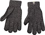 Smartwool Mens Cozy Wool Acrylic Touch Screen Friendly Gloves Black