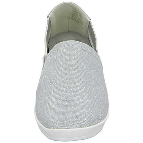 Cats S1613301-46 Damen Slipper Halbschuh sportlicher Boden Grau (Silber)