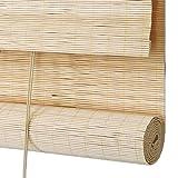 ZEMIN Sonnencreme Bambus Rollo Antimehltau Rolltor Lack Wasserdicht Abgeschnitten Hintergrund Teehaus Draussen Harmlos Umweltschutz Schutz (Farbe : D, größe : 90x200cm)