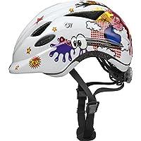 ABUS Anuky Casque Vélo Enfant White Comic Taille S 46-52 cm
