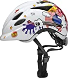 ABUS 8160 52-57 cm White Anuky Comic Bike Helmet