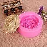 [Livraison Gratuite 7-12 jours] 3d rose fondant silicone moule à cake d'argile de chocolat savon moule BML®