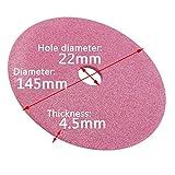 Disco de molienda para afilador de motosierra 3/8 y 404 cadenas 145 mm
