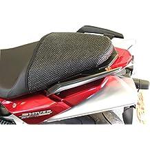 Aprilia Shiver 750 (2008-2016) Cubierta TRIBOSEAT para Asiento Antideslizante Accesorio Personalizado Negro