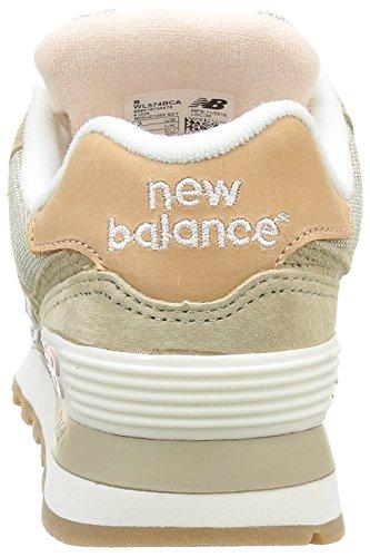 Nuovo Equilibrio Damen Wl574v1 Sneakers Braun (marrone / Rosa)
