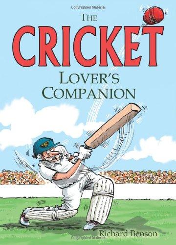 The Cricket Lover's Companion por Richard Benson